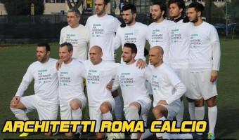 Architetti Roma calcio per Telethon