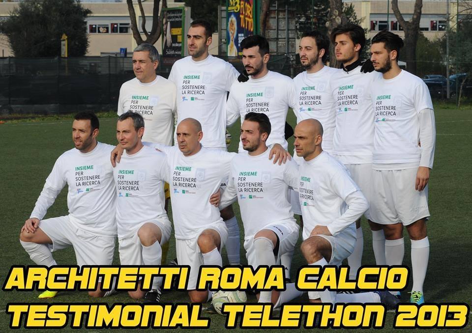 Architetti roma calcio per telethon aloa for Roma ordine architetti