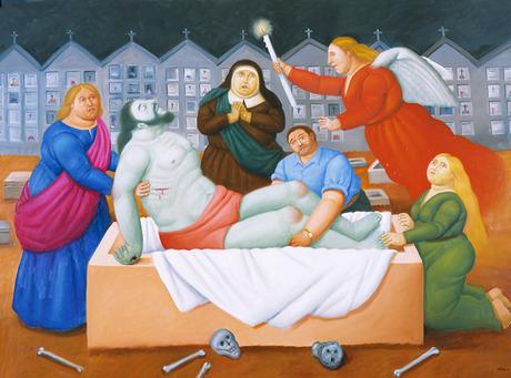 botero via crucis