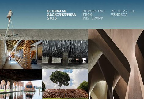 Reporting From the Front – 15a Biennale di Architettura