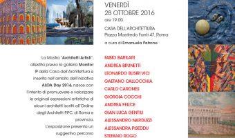 Mostra Architetti Artisti – Ottobre 2016