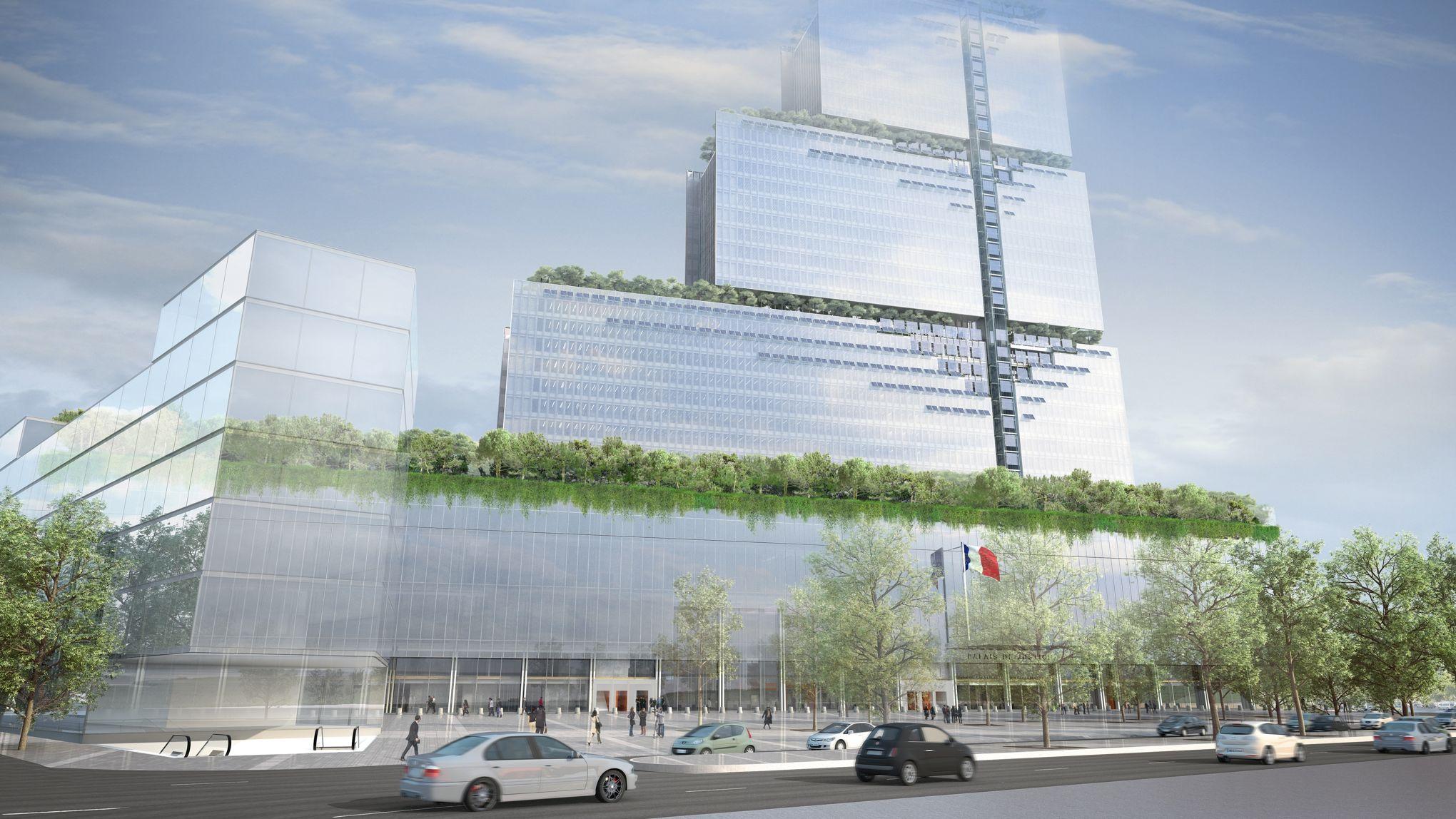 Opere Di Renzo Piano il nuovo palazzo di giustizia di parigi di renzo piano - aloa