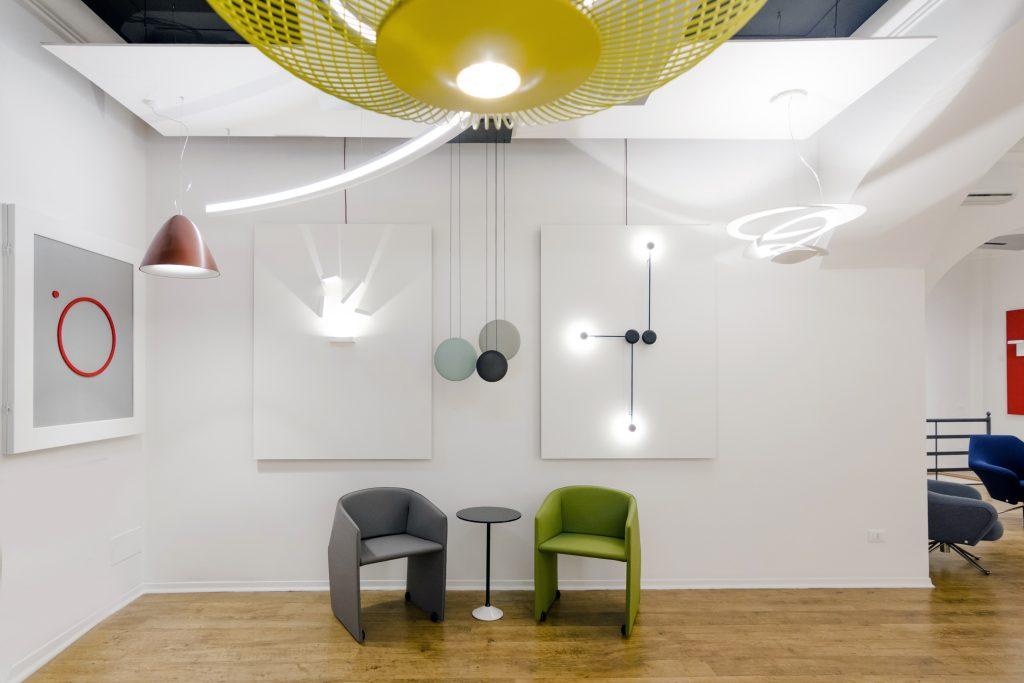 hikaro showroom di illuminazione aloa