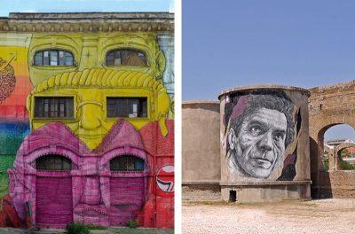 Visita al Teatro India con performance teatrale e alla street art di Via del Porto Fluviale