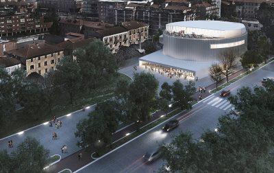 C+S Architects: un edificio con rivestimento in rame preossidato a Venezia, un nuovo progetto di rigenerazione a Bergamo