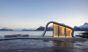 """Norvegia: l'architettura """"meraviglia"""" (esalta) la """"poesia"""" della natura"""