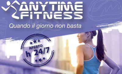 Anytime Fitness, i centri fitness aperti H24