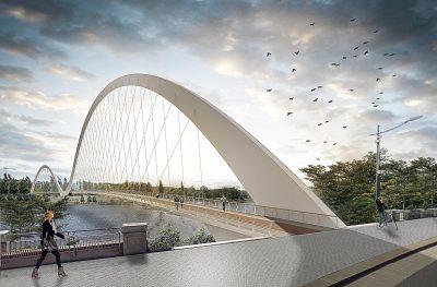 Lo studio SAO Architecture vince un premio di architettura con un ponte pedonale a Praga