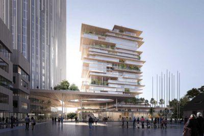 Architettura contemporanea a Vienna: un complesso edilizio di Mario Cucinella Architects