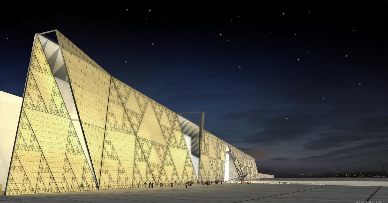 Il Grand Egyptian Museum (GEM) di Giza