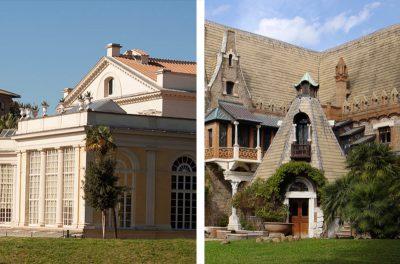 Teatro di Villa Torlonia e Casina delle Civette con performance teatrale