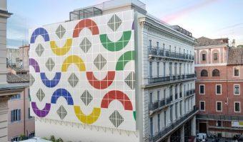 Un'opera contemporanea di 370 metri quadrati nel centro storico di Roma
