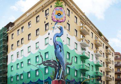 Hunting Pollution: inaugurato il più grande eco-murales d'Europa