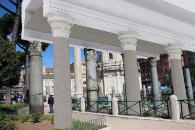 Roma: sarà ricostruita la basilica Ulpia di Apollodoro (anastilosi)