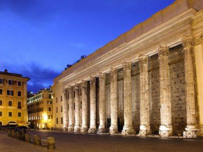 Riaperti il Tempio di Adriano e la Domus di Nerone