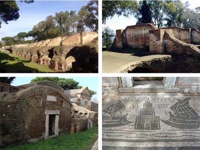 Necropoli di Portus (Isola Sacra) e area archeologica di Portus (Fiumicino)