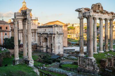 Archi Trionfali di Roma - Antichi Restauri