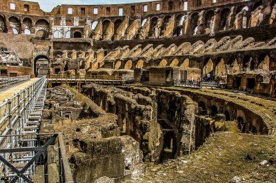 Visita ai sotterranei del Colosseo e all'arena